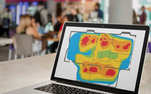 Shopping Mall Heatmap